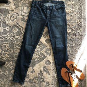 "Big star ""Alex Skinny"" dark blue cotton jeans"